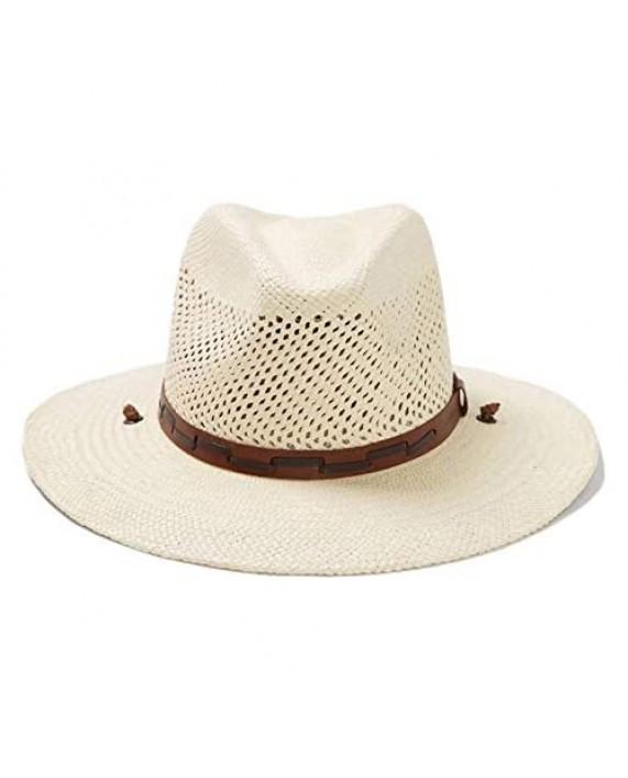 Stetson Men's Stetson Airway Vented Panama Straw Hat