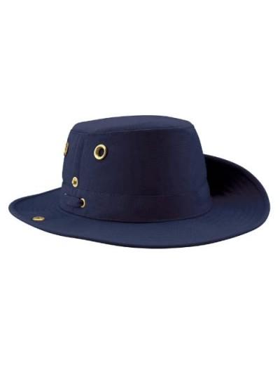 Tilley Unisex T3 Cotton Duck Snap-up Brim Hat 7 3/8 Navy