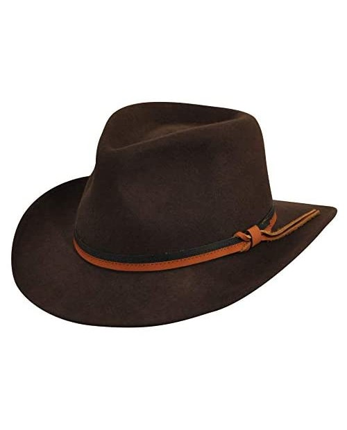 Country Gentleman Felt Outback Hat