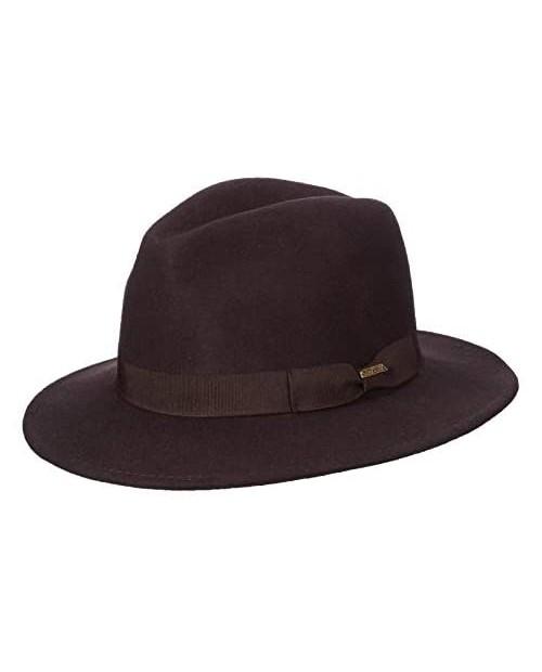 Scala Classico Men's Crushable Felt Safari Hat