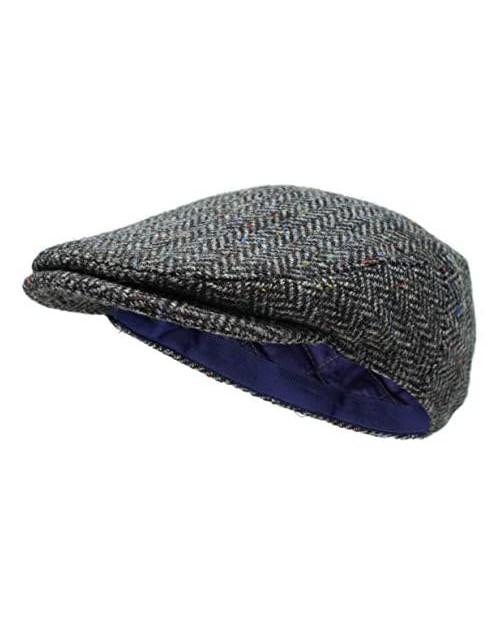 Borges & Scott The Galway - Irish Tweed Flat Cap
