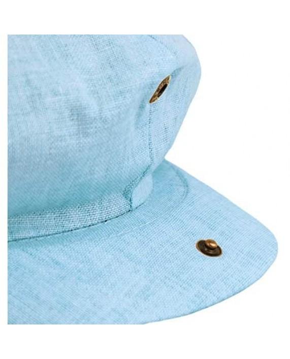 Cool Linen Applejack 8 Panel Summer Newsboy Driving Cap Snap Button Solid Color Ivy Golf Hat