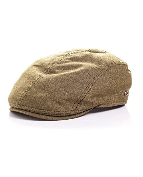 Gottmann Men's Jackson Linen Flat Cap