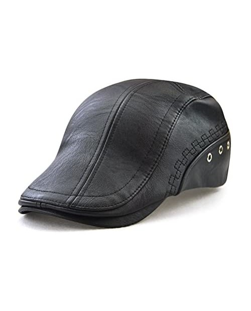 Gudessly Men's Classic Flat Ivy Vintage Newsboy Driving Cap Golf Hunting Cabby Hat