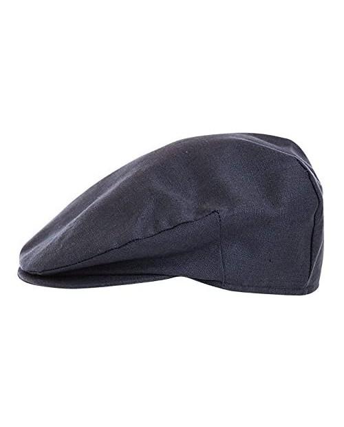 Hanna Hats of Donegal.Irish Flat Cap.Donegal Tweed.Navy Linen