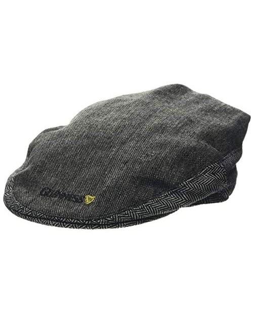 Official Guinness - Tweed Irish Flat Cap - Unisex - Grey