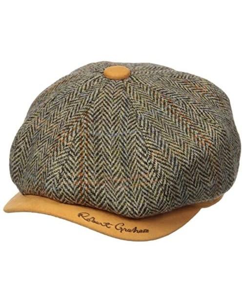 Robert Graham Headwear Men's Royal Oaknewsboy