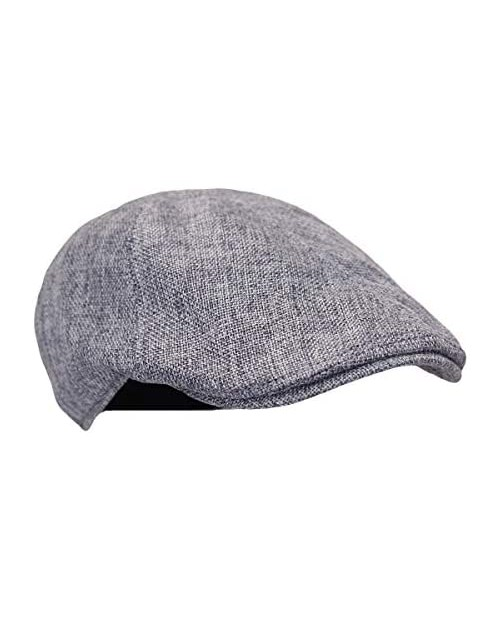 WITHMOONS Flat Cap Summer Cool Ivy Style Neutral Color Newsboy Hat AM3998
