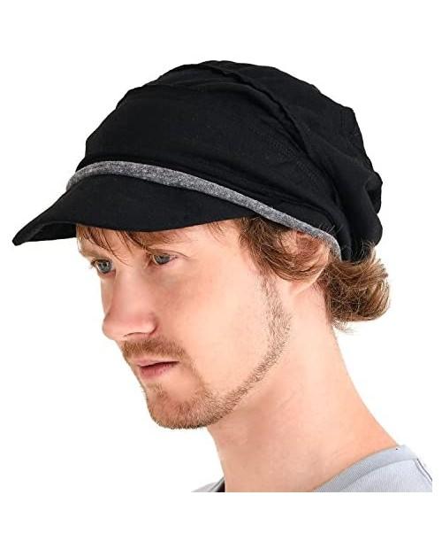 CHARM Mens Slouch Beanie Womens Slouchy Hat Peak Cap Breathable Summer Winter Japanese Fashion