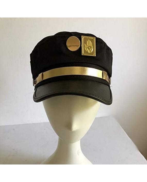 H&fashion Cool Hat Jotaro Kujou Cap Cosplay