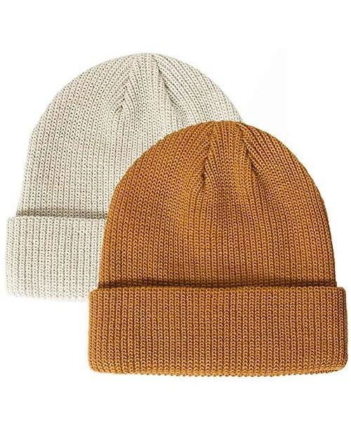 Paladoo Beanie Hat Knit Ski Cap Fisherman Beanie for Men Women