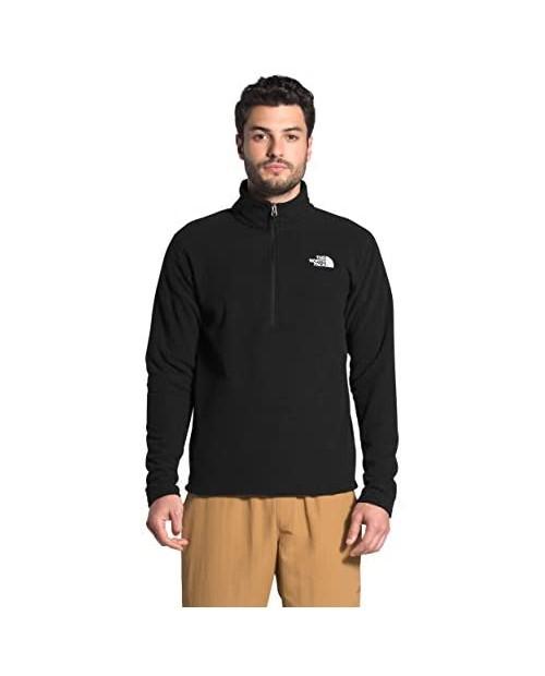 The North Face Men's Textured Cap Rock Quarter Zip Pullover Sweatshirt