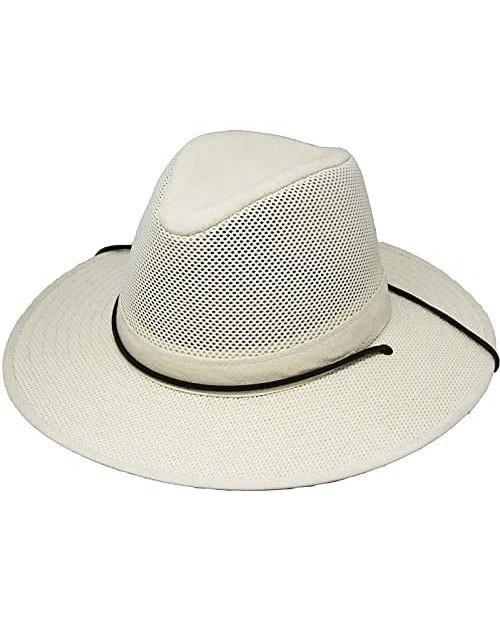 Henschel Hats Breezer Aussie Hat Natural Boxed Large