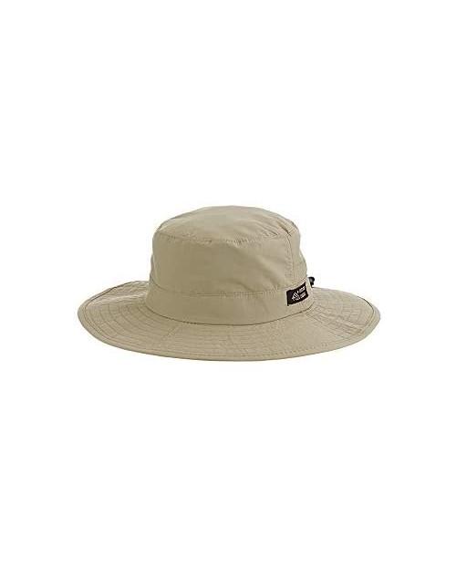 Men's 1 Piece Big Brim Boonie Hat with Nylon Chin Cord