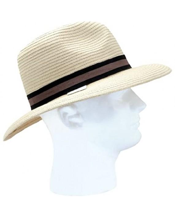 Sloggers 444DH Braided Dolph Hat Men's Medium- Large Light Brown