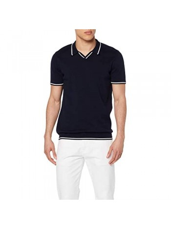 Brand - find. Men's Pure Cotton Tipped Polo