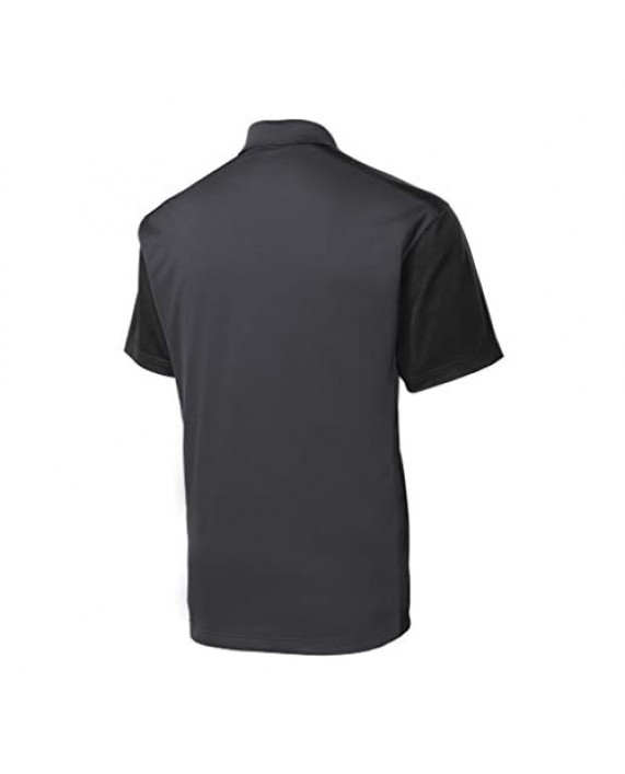 Mens Moisture Wicking Micropique Golf Polo Shirts in Sizes XS-4XL