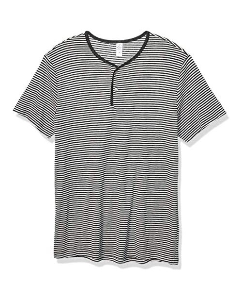 Alternative Men's Throwback Henley Short Sleeve