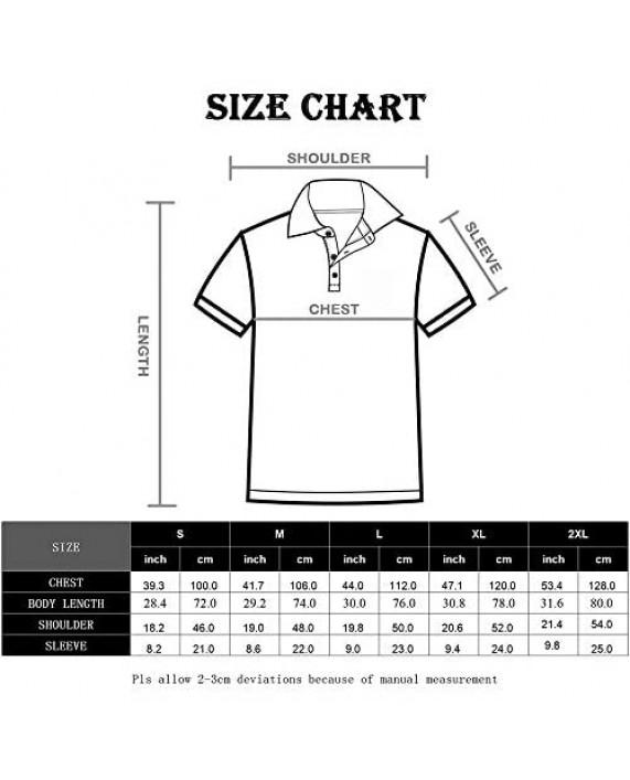 Facitisu Mens Henley Short/Long Sleeve Casual Shirts Fashion Workwear Big and Tall Pullover T-Shirt