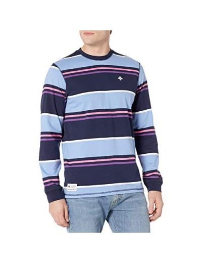 LRG Men's Long Sleeve Striped Shirt