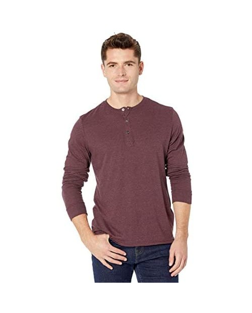Mens Threads 4 Thought - Triblend Long Sleeve Henley