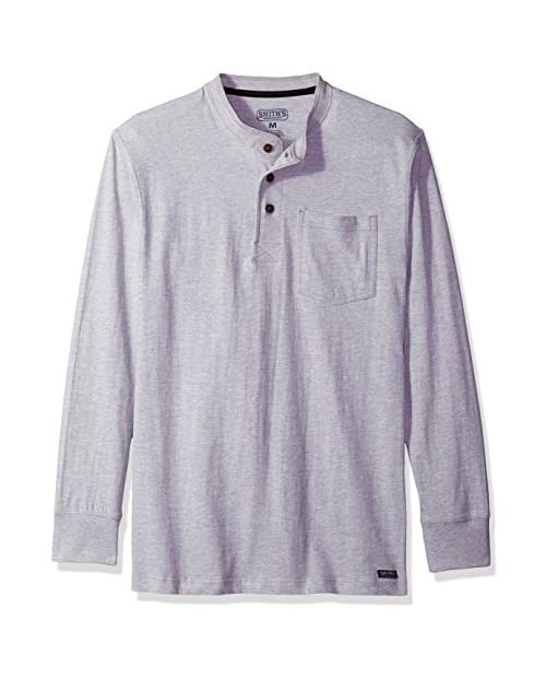 Smith's Workwear Men's Long Tail Henley