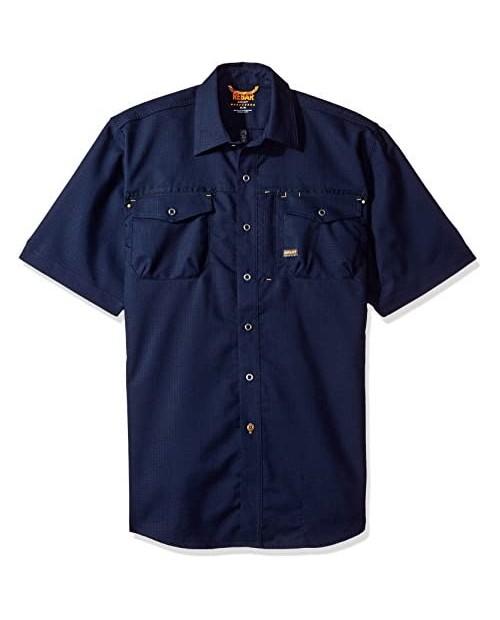 Ariat Men's Rebar Short Sleeve Work Shirt