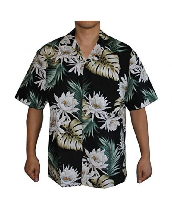Men's Assorted Hawaiian Prints Luau Cruise Aloha Shirts