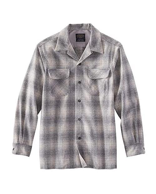 Pendleton Men's Long-Sleeve Classic Fit Board Wool Shirt