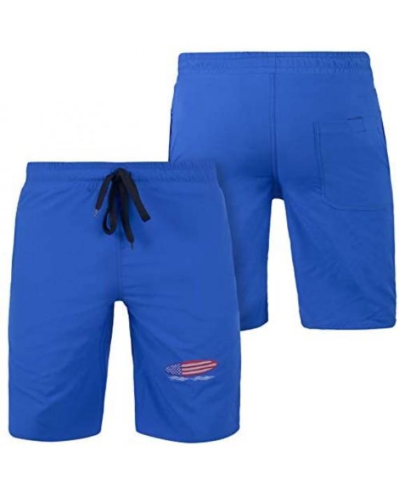 Awans Men Swim Trunks Men Swim Shorts Swim Pants Swim wear Beachwear Quick Dry