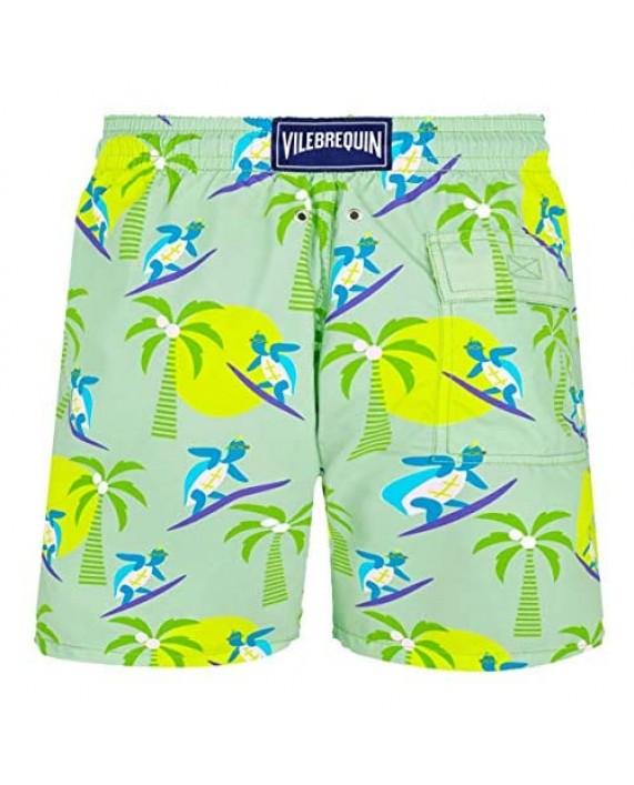 Vilebrequin - Men - Swimwear Surfing Turtles