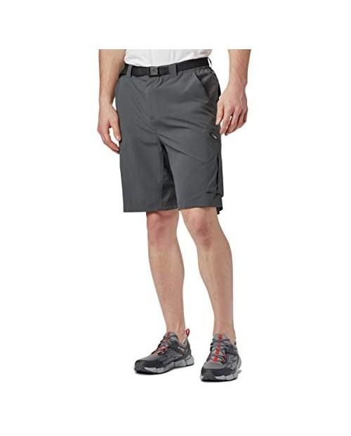 Columbia Sportswear Men's Big and Tall Silver Ridge Cargo Shorts Grill 42 x 10