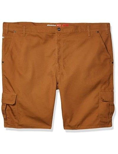 "Dickies Men's Tall 11"" Cargo Tough Max Duck Short-Relaxed Fit Big"