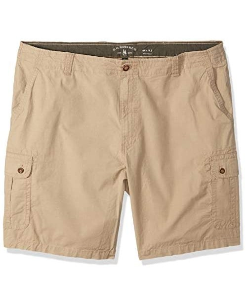 G.H. Bass & Co. Men's Big & Tall Big and Tall Ripstop Stretch Cargo Short