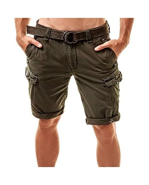 Men's Premium Regular Fit Cargo Short 100% Cotton