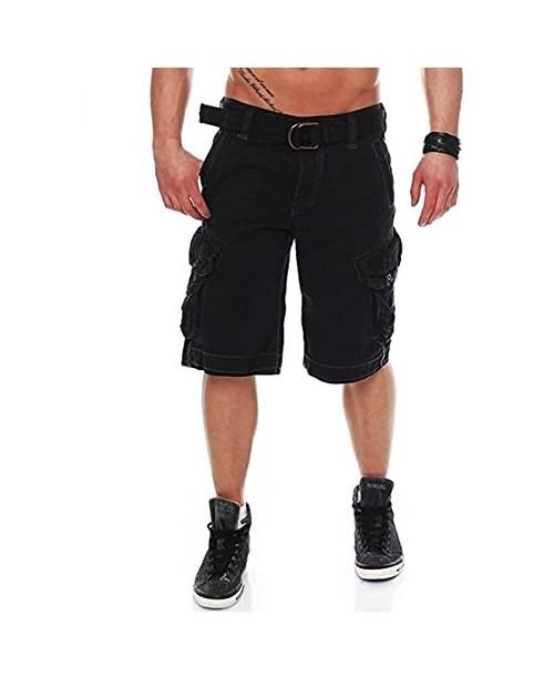 Men's Relaxed fit Premium Cargo Shorts 100% Cotton