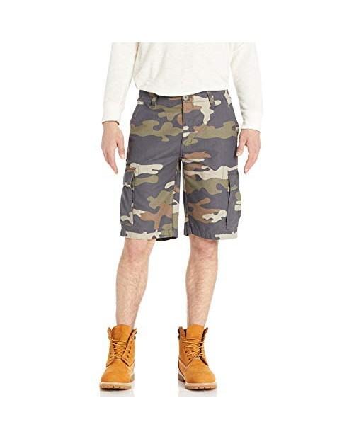 Smith's Workwear Men's Soft-Feel Twill Camo Cargo Short