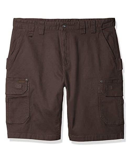 Smith's Workwear Men's Stretch Canvas Cargo Utility Short