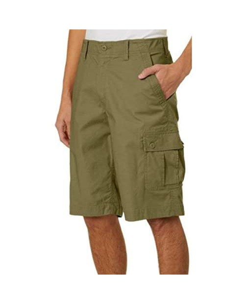 Wearfirst Mens Mindy Cargo Shorts (Green 34)